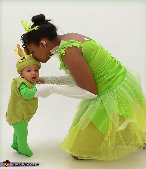 The Princess and the Little Frog Prince Costume