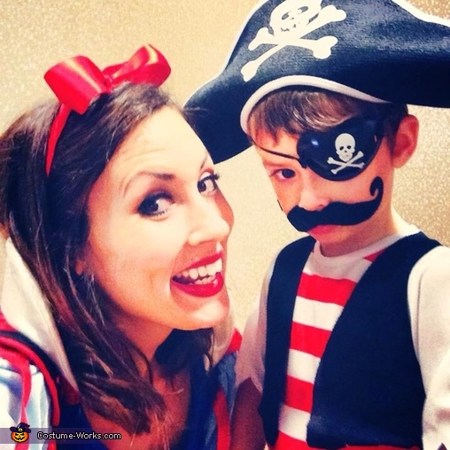 Every princess needs a little pirate!, The Princess and the Pirate Costume