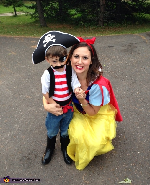 The Princess and the Pirate Costume