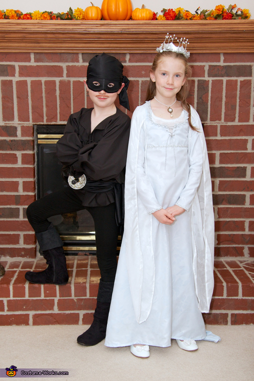 Westley and Buttercup, The Princess Bride Costume