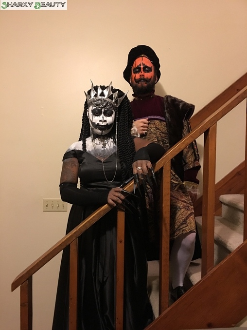 The Pumpkin King and Queen Costume