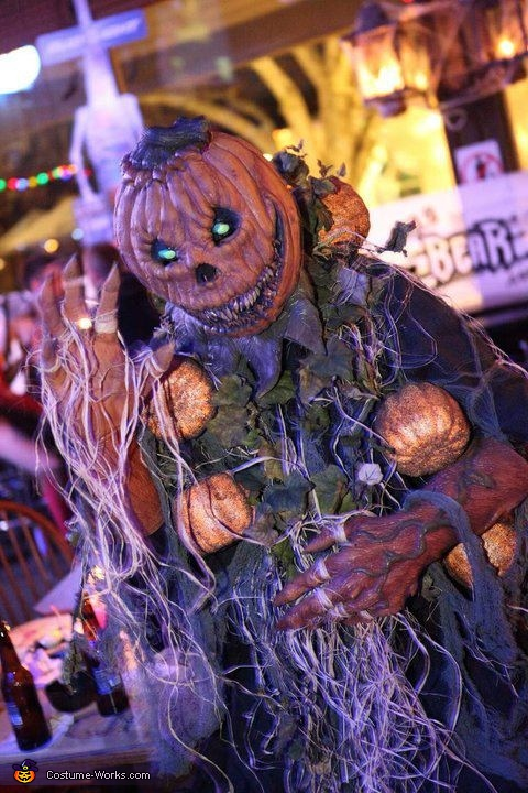 The Pumpkin Man says Hello!, The Pumpkin Man Costume