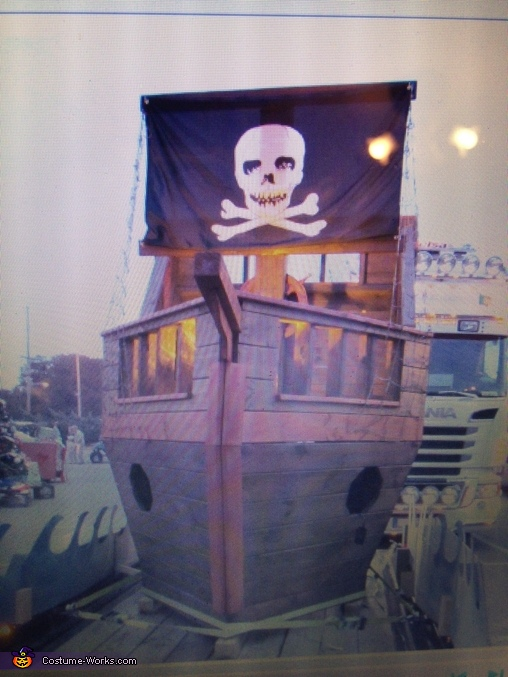 The Puny Pearl Pirate Ship Homemade Costume