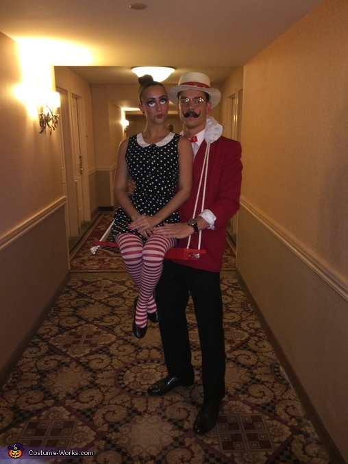 The Puppeteer & His Ventriloquist Dummy, The Puppeteer & his Ventriloquist Dummy Couples Costume