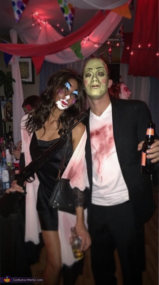 The Purge Couple Homemade Costume