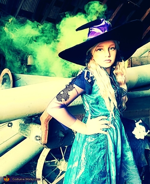 The Quarantined Witch Homemade Costume