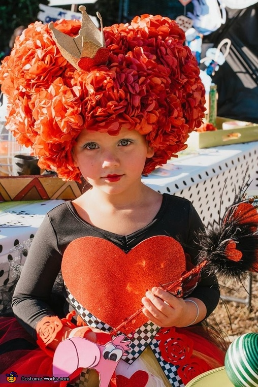 The Queen of Hearts, The Queen of Hearts Costume