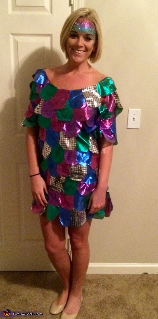 The Rainbow Fish Costume