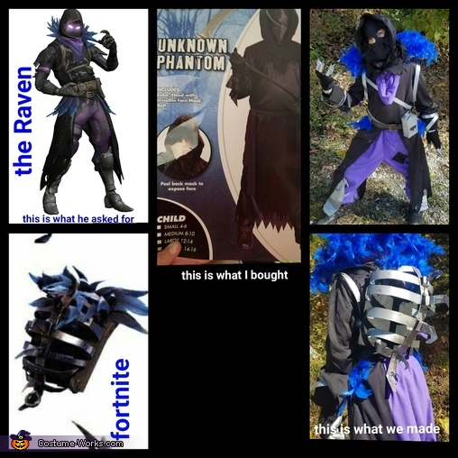 Sums it up, The Raven Costume