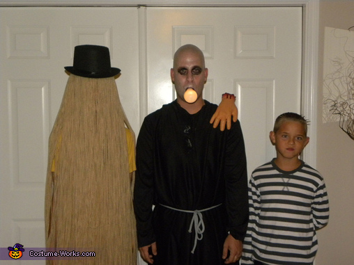 The Real Addams Family Homemade Costume