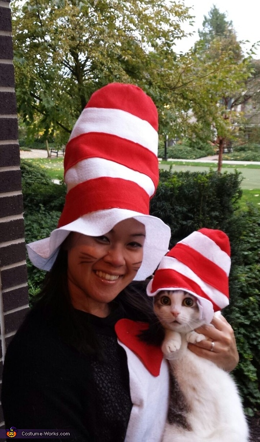 The REAL Cat in the Hat Costume