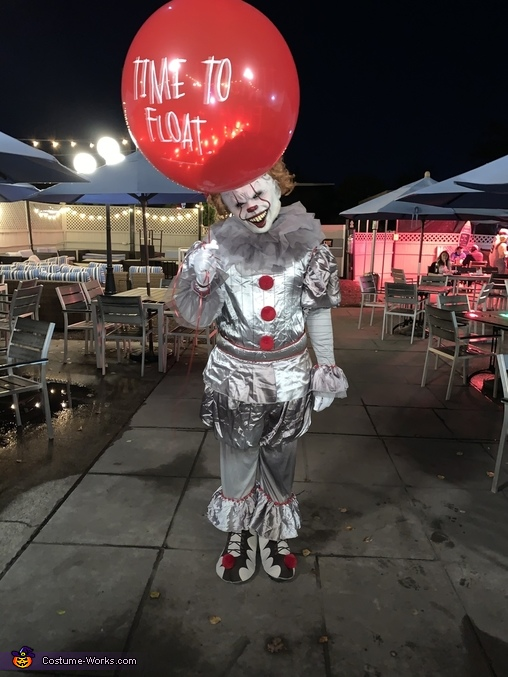 The real Pennywise Costume