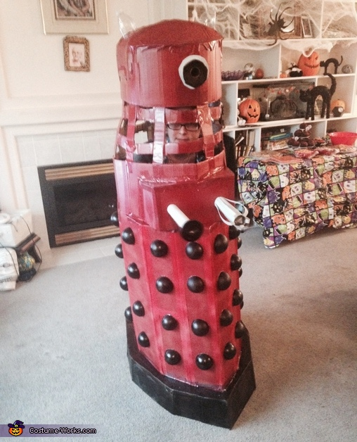 The Red Dalek Costume