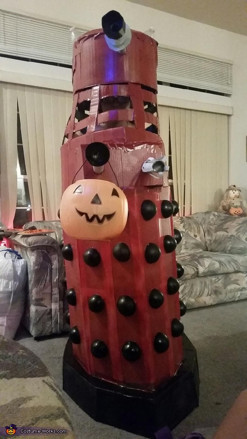 Give me candy and no one gets exterminated., The Red Dalek Costume