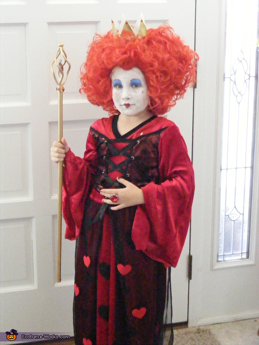 Alice in Wonderland Red Queen Costume
