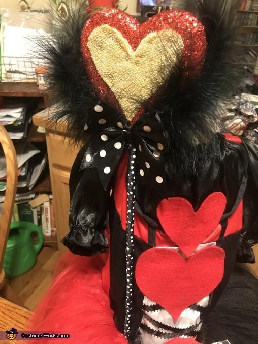 Heart sceptor, The Red Queen Costume