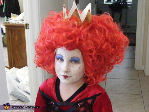 The Red Queen, Alice in Wonderland Red Queen Costume