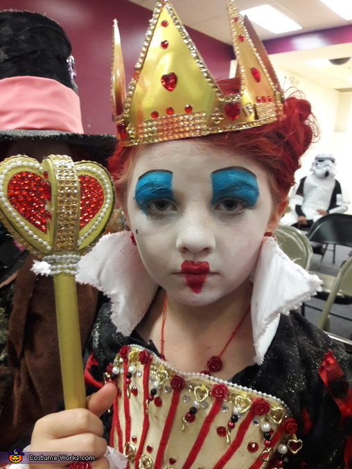 The Red Queen Homemade Costume