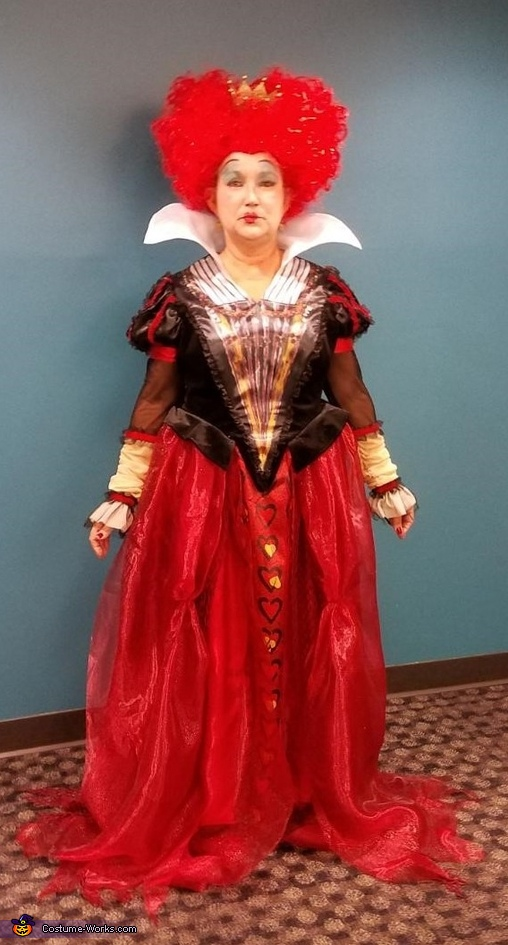 The Red Queen from Alice thru the Looking Glass Costume