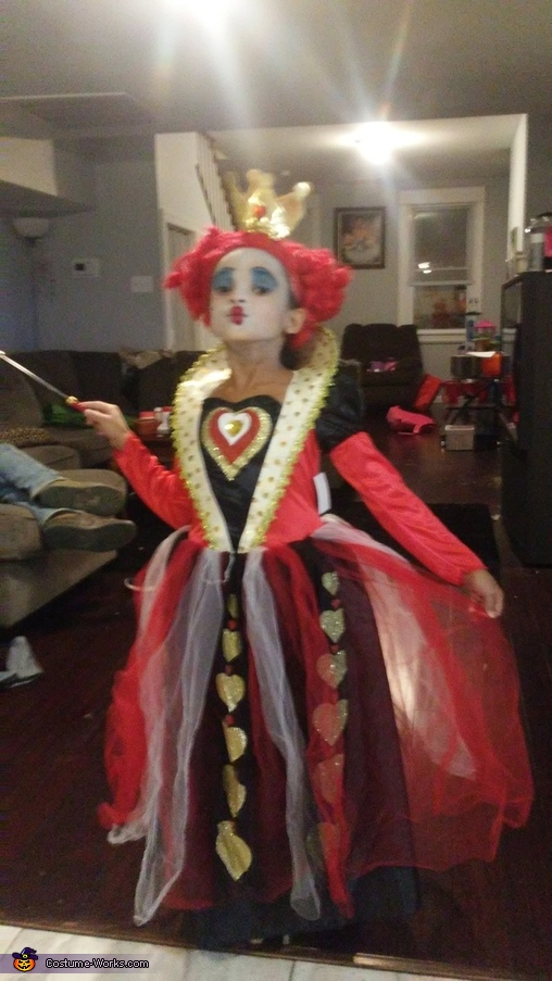 The Red Queen of Hearts Costume