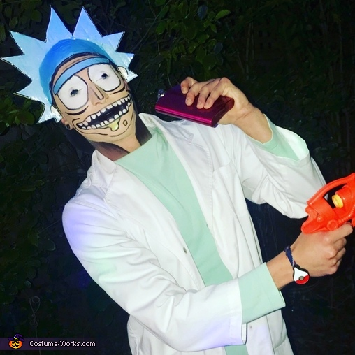 The Rickest Rick Costume