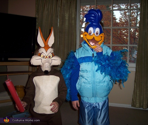 The Roadurnner and Wile E. Coyote2, Roadrunner & Wile E. Coyote Costume
