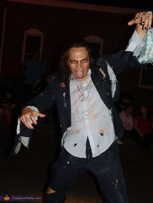 The Rocking Dead Zombie Homemade Costume