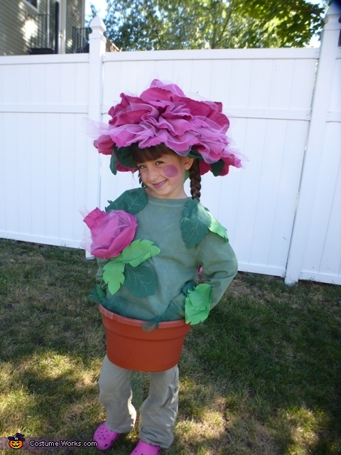 Rose in a Flower Pot Costume