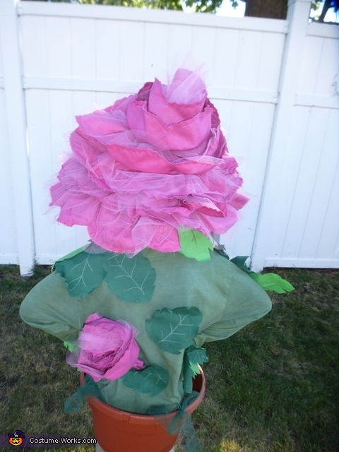 Back of the rose, Rose in a Flower Pot Costume