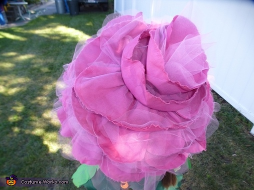 The rose hat, Rose in a Flower Pot Costume
