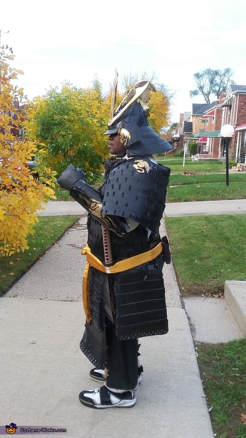 The Samurai Homemade Costume