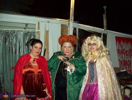 3 sisters as the Sanderson Sisters, The Sanderson Sisters Costume