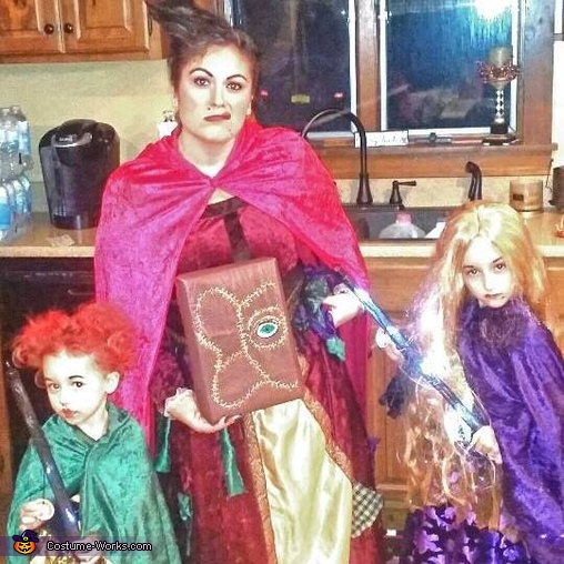 The Sanderson Sisters Family Costume