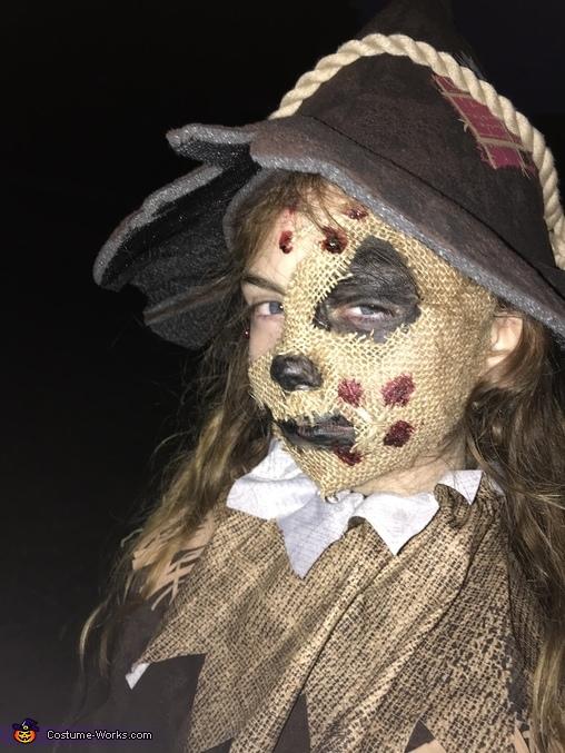 The Scarecrow Homemade Costume