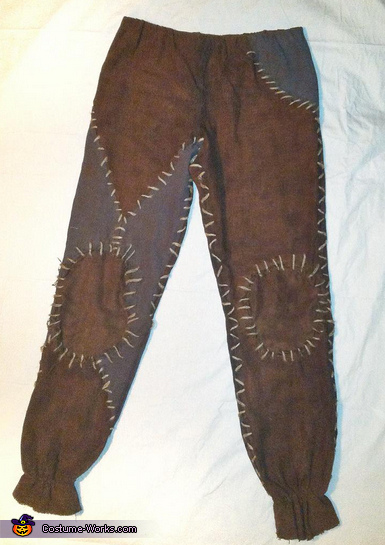 The completed Pants, The Scarecrow Costume