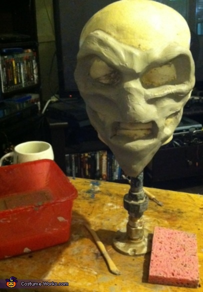Sculpting, The Scarecrow Costume