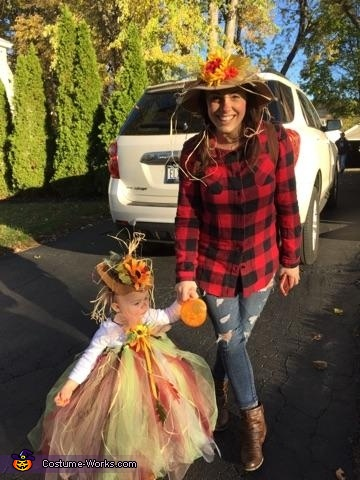 The Scarecrow Princess Homemade Costume