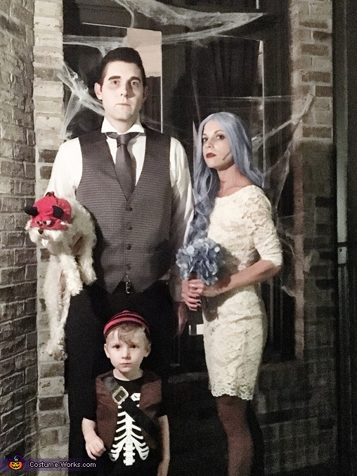 The Scary Family Costume