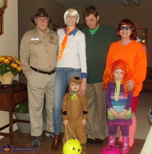 The Scooby Doo Crew Costume