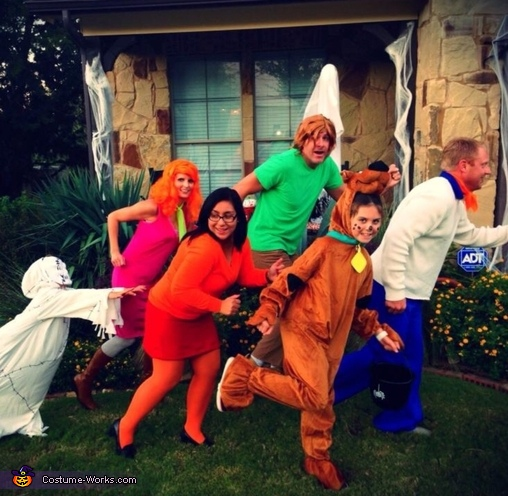 The Scooby Gang Family Costume