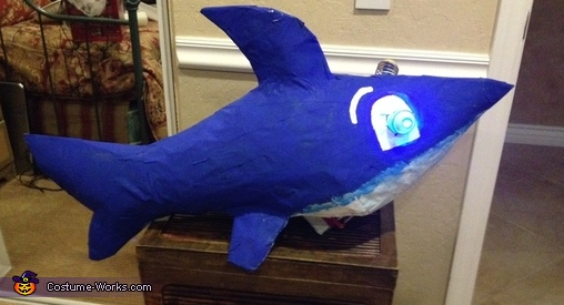 lighted googly eyes, The Shark Tank TV Show Costume