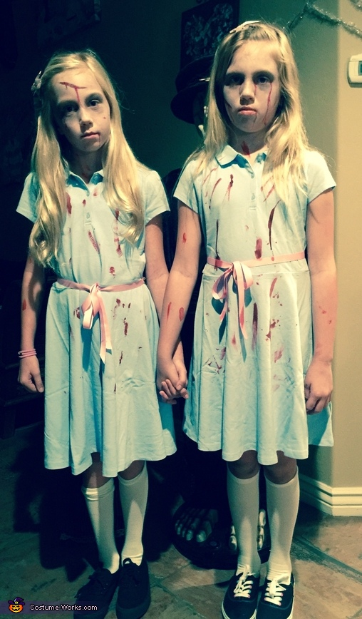 In character, The Shining Twins Costume