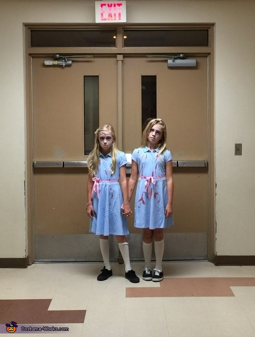 Danny, come play with us, The Shining Twins Costumes