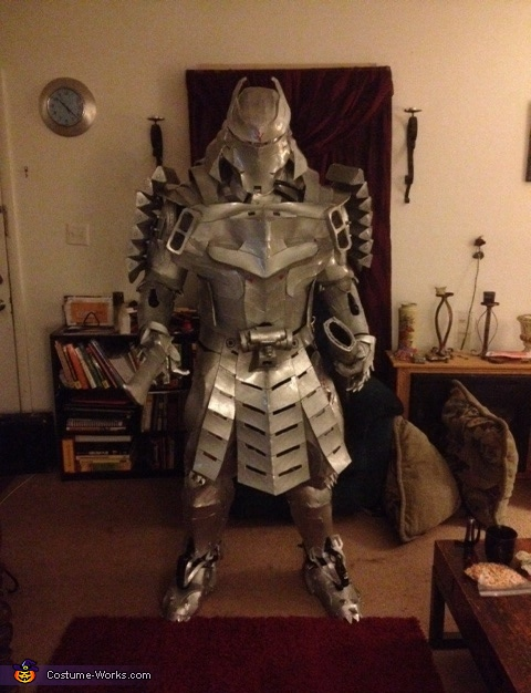 The Silver Samurai Costume
