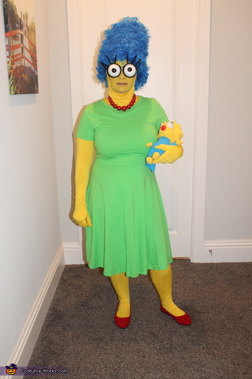Marge & Maggie, The Simpsons Costume