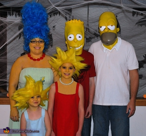 The Simpsons Costume