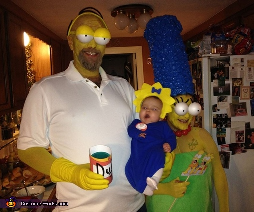 The Simpsons Family Halloween Costume