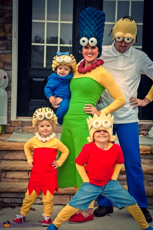 The Simpsons Family Costume