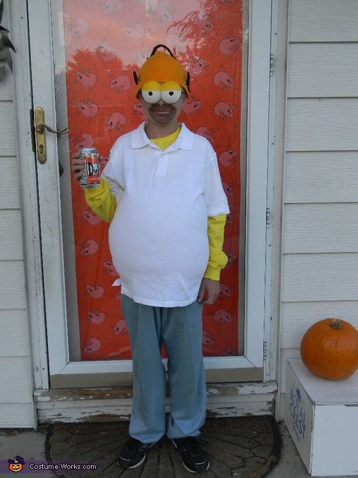 Homer , The Simpsons Family Costume