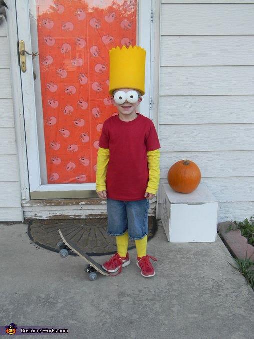 Bart, The Simpsons Family Costume